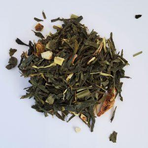 Citrus Lemon green tea