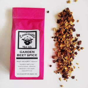 Garden Beet Spice herbal tea turmeric