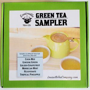 Green Tea Sampler box