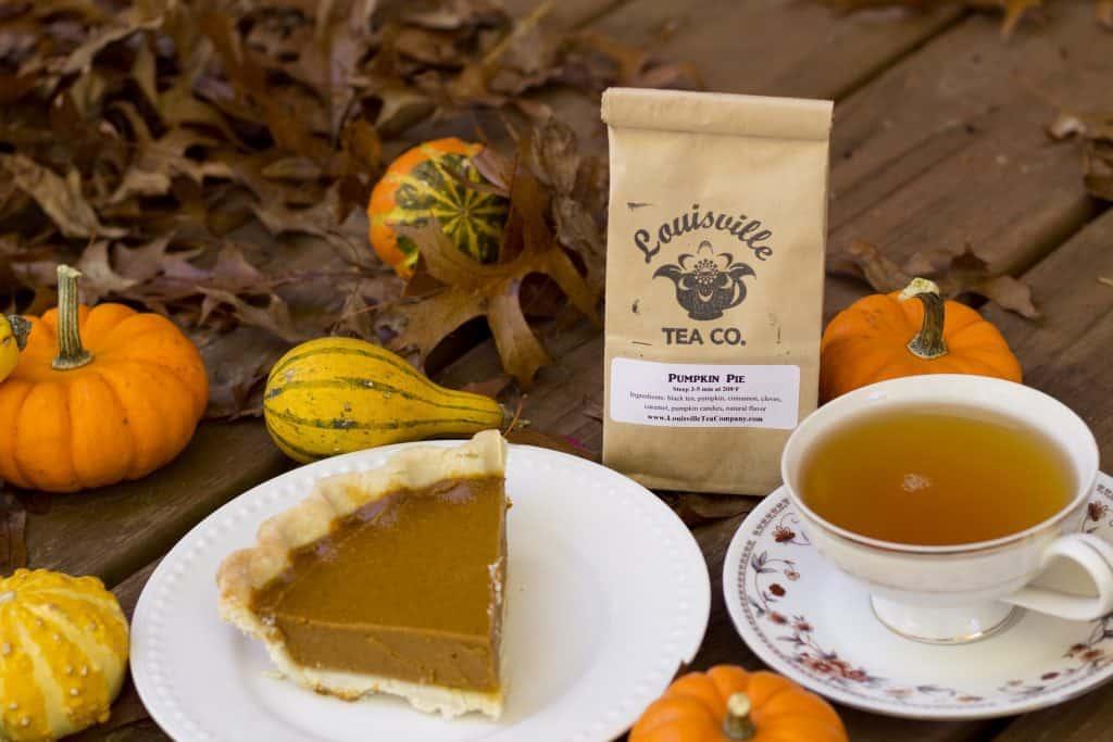 pumpkin pie tea fall